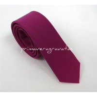 gravata slim pink oxford