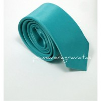 gravata slim azul tiffany